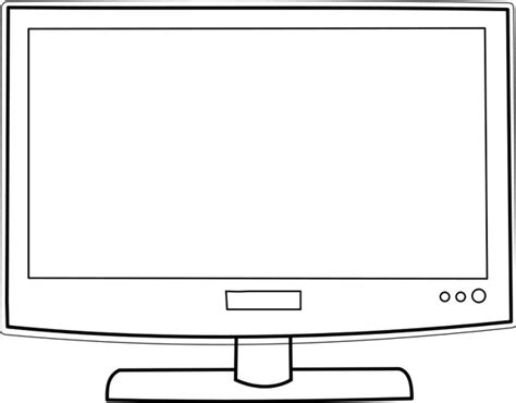 html format for new line tv television drawing free vector download 90 115 free