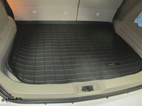 Weather Tech Floor Mats Review by Weathertech Cargo Liner Black Weathertech Floor Mats Wt40325