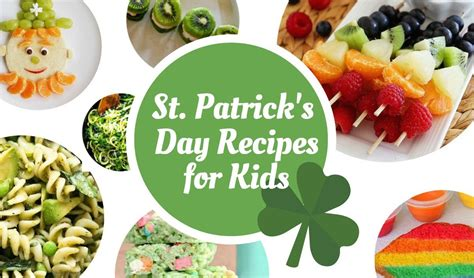 s day kid friendly st s day recipes for
