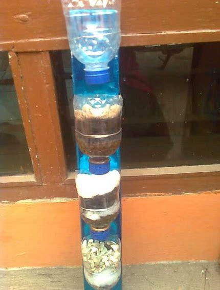cara membuat filter aquarium dari botol bekas cara mebuat penyaringan air dari botol teknik