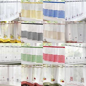 bathroom voile voile cafe panel kitchen bathroom ready made net curtains