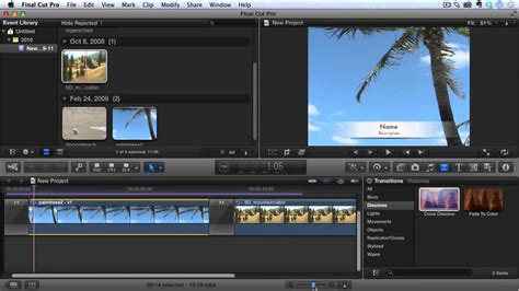 final cut pro youtube video final cut pro x tutorial how to fade in and fade out