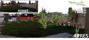 massif de plantes monjardin materrasse
