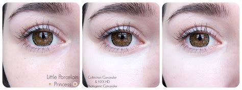 Nyx Hd Photogenic Concealer porcelain princess review nyx hd photogenic