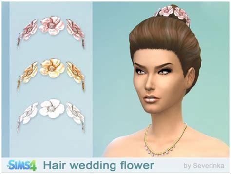 sims 3 cc wedding hair sims by severinka wedding hair flowers sims 4 downloads