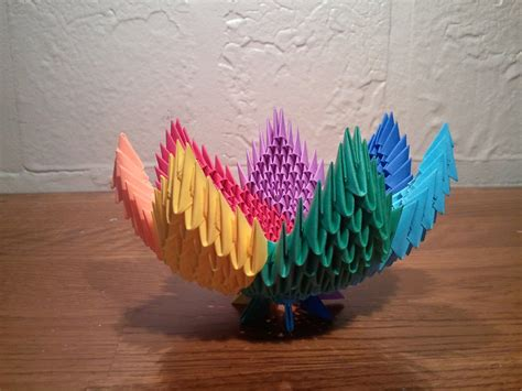 3d Origami Flamingo - 3d origami flamingo images craft decoration ideas