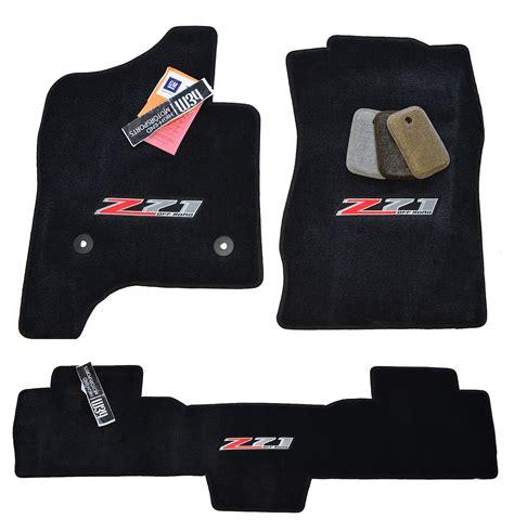 chevrolet silverado z71 black floor mats