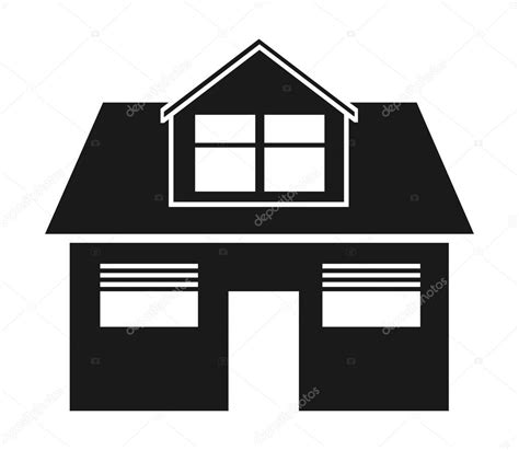 casa clipart haus symbole clipart abbildung stockvektor 169 kozzi2