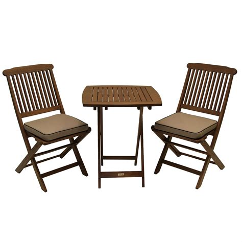 3 Piece Bistro Style Outdoor Patio Furniture Chair Table Bistro Style Patio Furniture