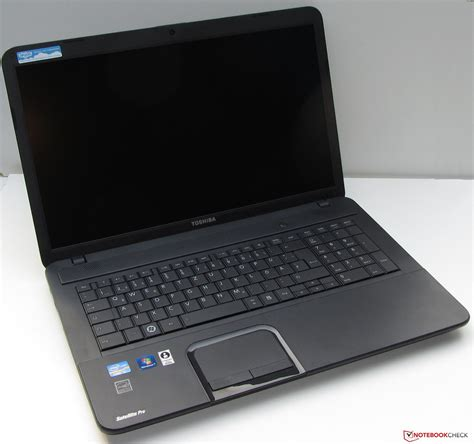 review toshiba satellite pro c870 notebook notebookcheck net reviews