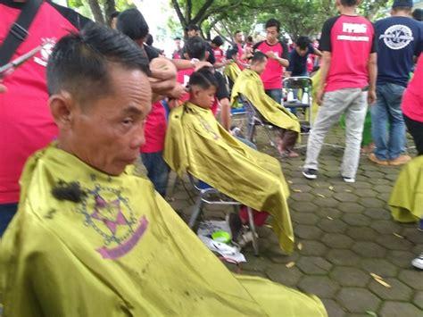 Kursi Cukur Biasa wah sehari 1 517 orang mendapatkan pelayanan cukur gratis