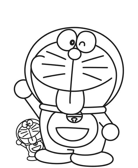 coloring page doraemon doraemon coloring pages to download and print for free