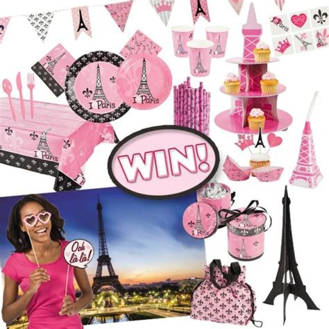 Oriental Trading Giveaway - thrifty momma ramblings oriental trading paris themed party goods giveaway