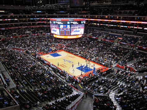 staples center     downtown los angeles