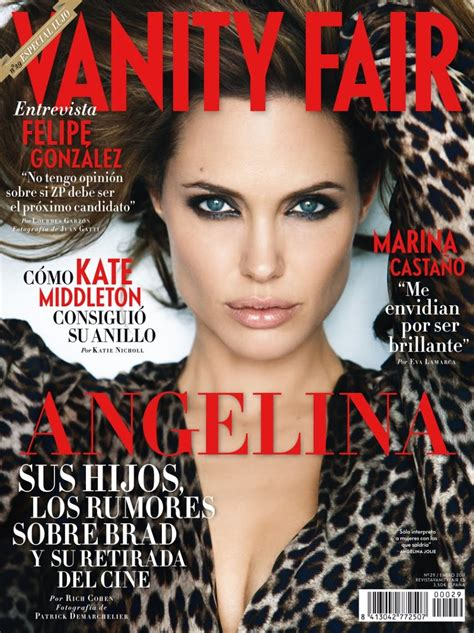 Vanity Fair by Bird Tell Covers Vanity Fair Spain January 2011 Photographed By