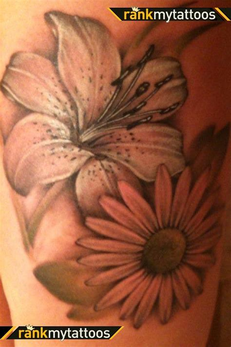 daisy flower tattoo designs tattoos and designs page 61