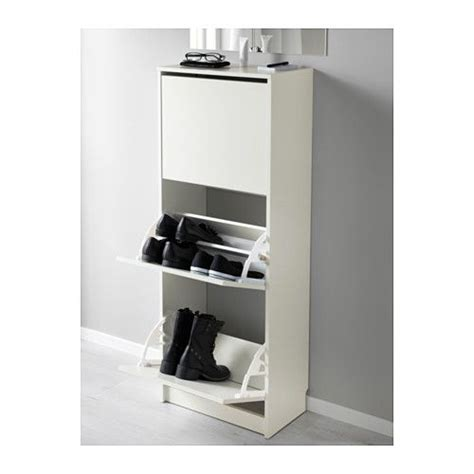 bissa shoe cabinet with 3 compartments bissa shoe cabinet with 3 compartments white white 19 1