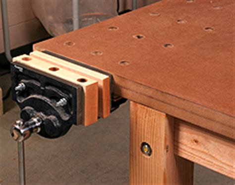 sh    install  woodworking bench vise