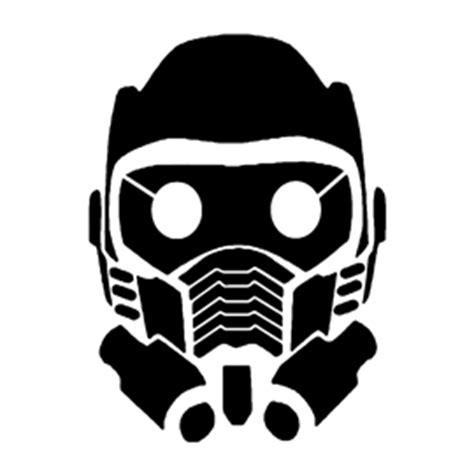 guardians   galaxy star lord mask stencil