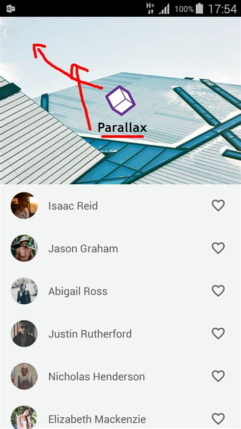 android layout overlapping views android collapsing toolbar layout with logo title