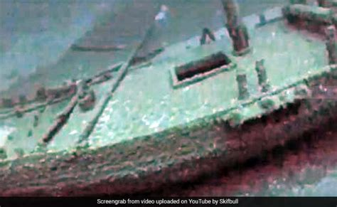 old boat found black sea greek trading ship more than 2 400 years old found intact