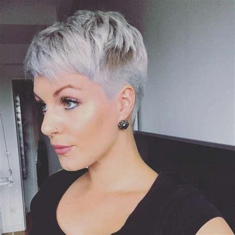 pixi cuts cherry brown and blonde 15 inspirations of funky short pixie hairstyles