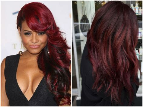 burgundy brown hair color 60 burgundy hair color ideas maroon purple plum