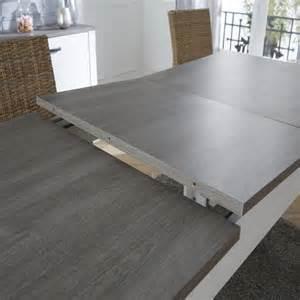 table de salle 224 manger avec allonge longueur max 230 cm