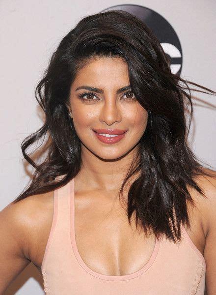 brunette actress hairstyles priyanka chopra long wavy cut long hairstyles brunette