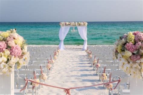 Tips for Beach Weddings ? Sarah Weddings