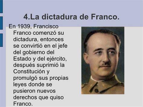 la dictadura de franco 8498920639 de primo de rivera a franco