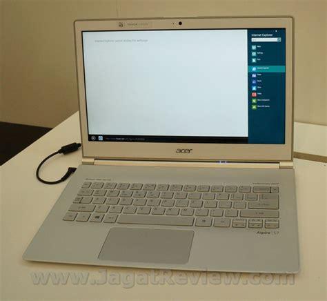Laptop Acer Layar Sentuh Windows 8 acer aspire s7 ultrabook layar sentuh berbasis windows 8 jagat review