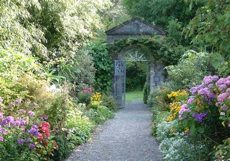 Garnish Island Ireland Walled Garden Walled Gardens Ireland
