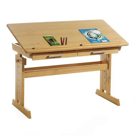 bureau enfant pin bureau enfant en pin massif r 233 glable en hauteur