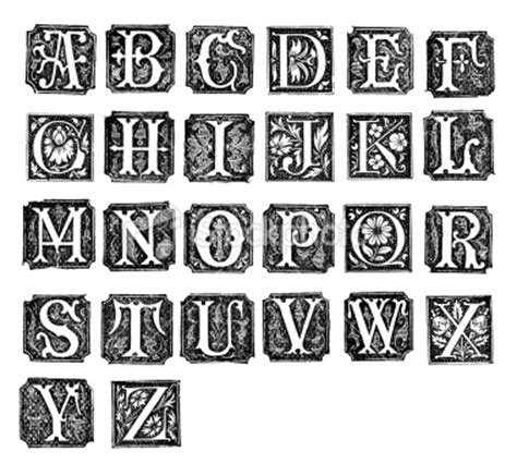 printable illuminated letters alphabet printable medieval illuminated letters search results
