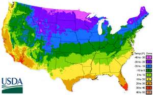 Us Zones For Gardening - usda zone map cleveland seed co
