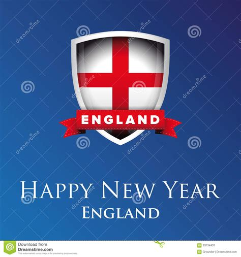 new year uk date happy new year vector stock vector image 63134431