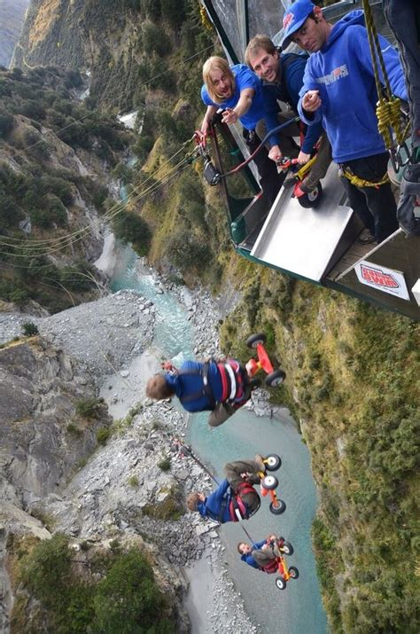 new zealand cliff swing shotover canyon swing queenstown new zealand by stoked