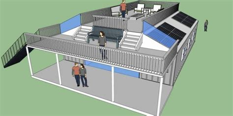 How To Make A Floor Plan In Sketchup by Top 20 Shipping Container Homes Plans And Costs For 2016