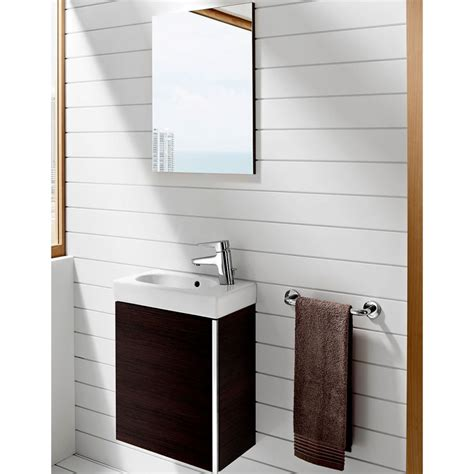 Bathroom Furniture Outlet Uk Roca Mini Vanity Unit With Mirror Uk Bathrooms