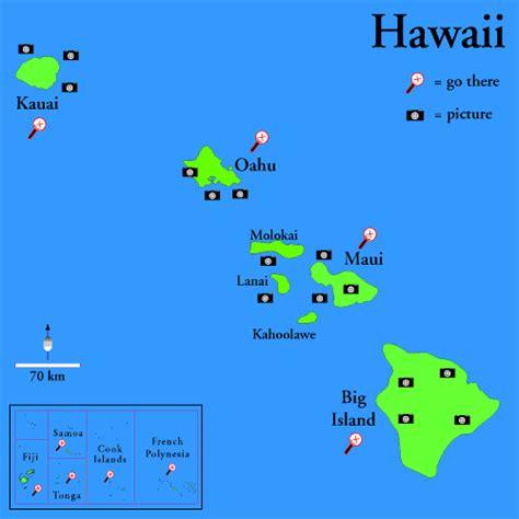 hawaii island map the hawaiian islands visiting and vacationing in hawaii