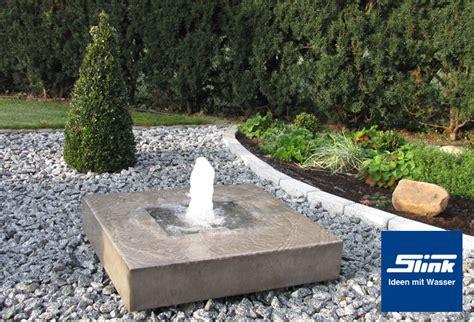 garten kaufen gartenbrunnen elemento mit feuerstelle kaufen