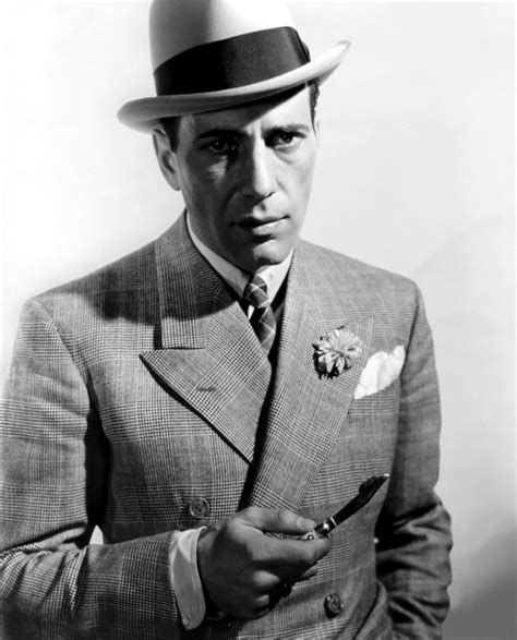 Humphrey White humphrey bogart with a classic white pocket square icon