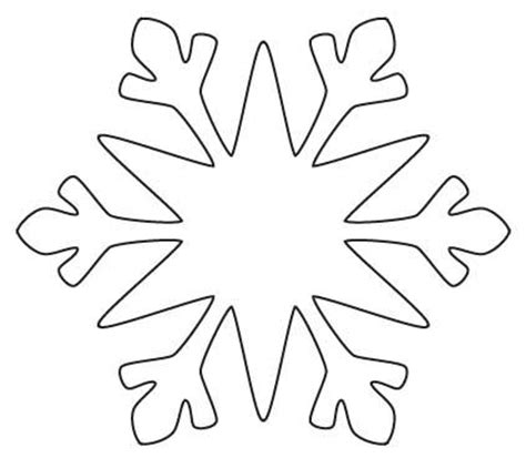 snowflake outline template 1000 ideas about snowflake cutouts on