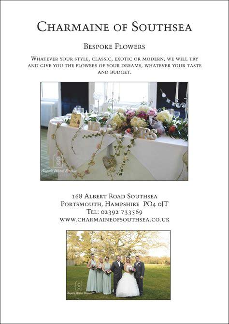 Wedding Brochures Uk by Florist Wedding Brochures