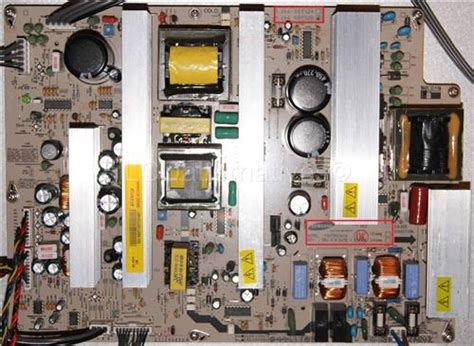 replace vizio capacitors vizio vp50 hdtv20a plasma tv replacement capacitors board not included lcdalternatives