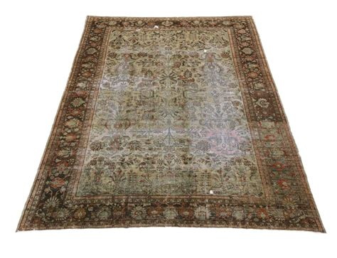 industrial mats rugs distressed antique lilihan rug with modern industrial style for sale at 1stdibs
