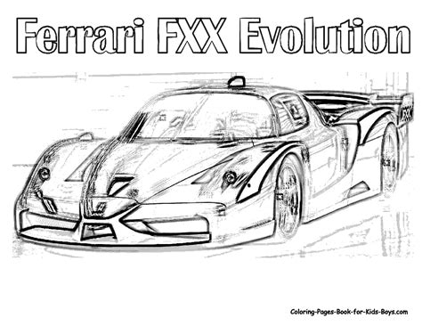 coloring pages ferrari cars ferrari car images coloring pages