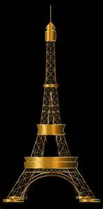 tower gold clipart eiffel tower two gold