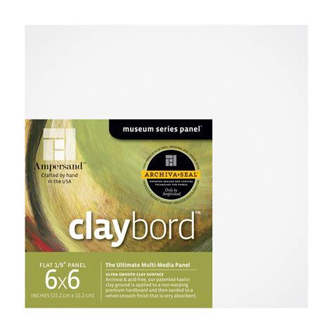 Claybord 1 8 Inch 6x6 4 Pack buy ersand claybord 1 8 inch 6x6 pk 4